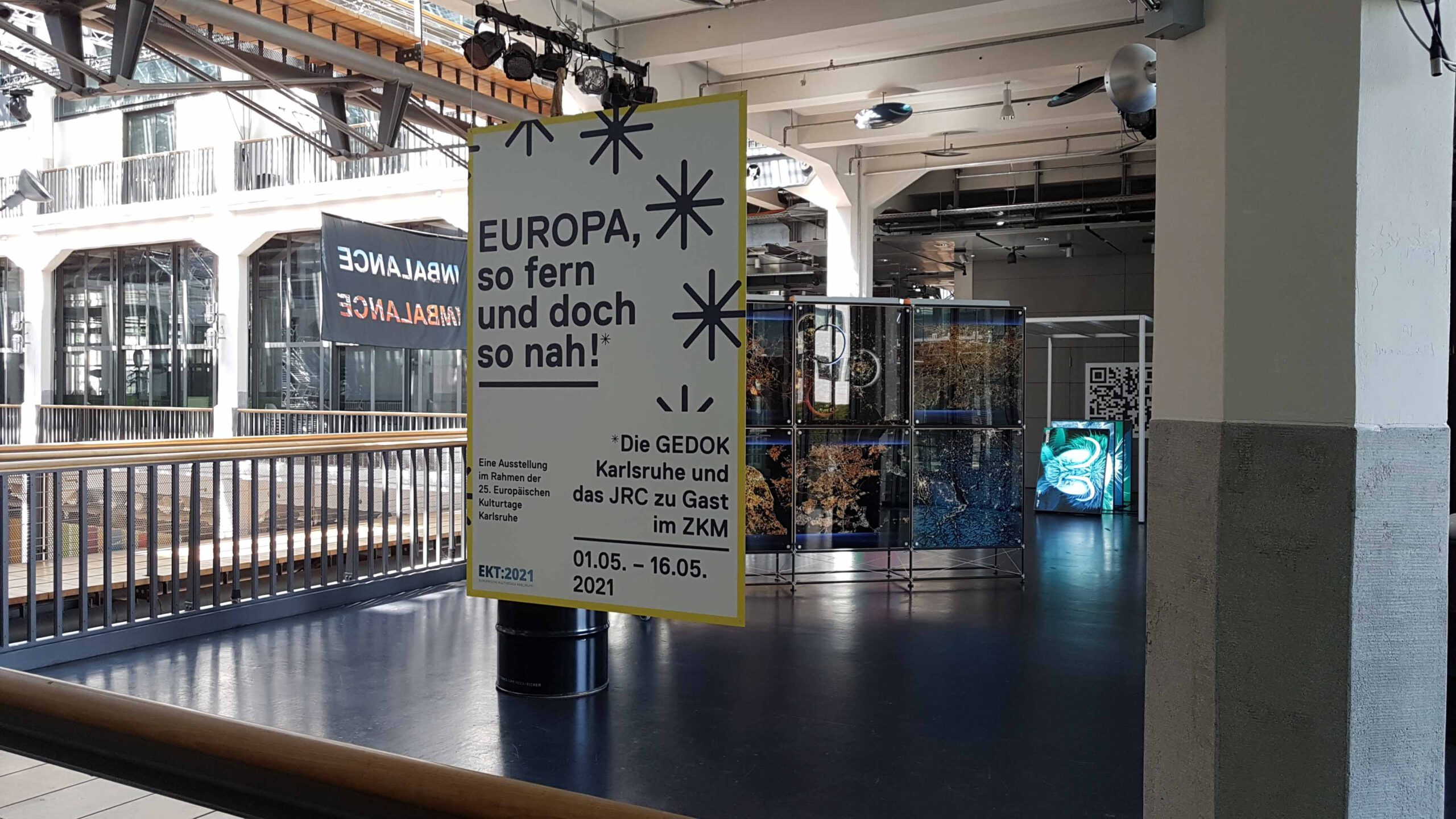 """Ausstellung """"Europa, so fern und doch so nah"""", Foto: Sabine Schäfer"""