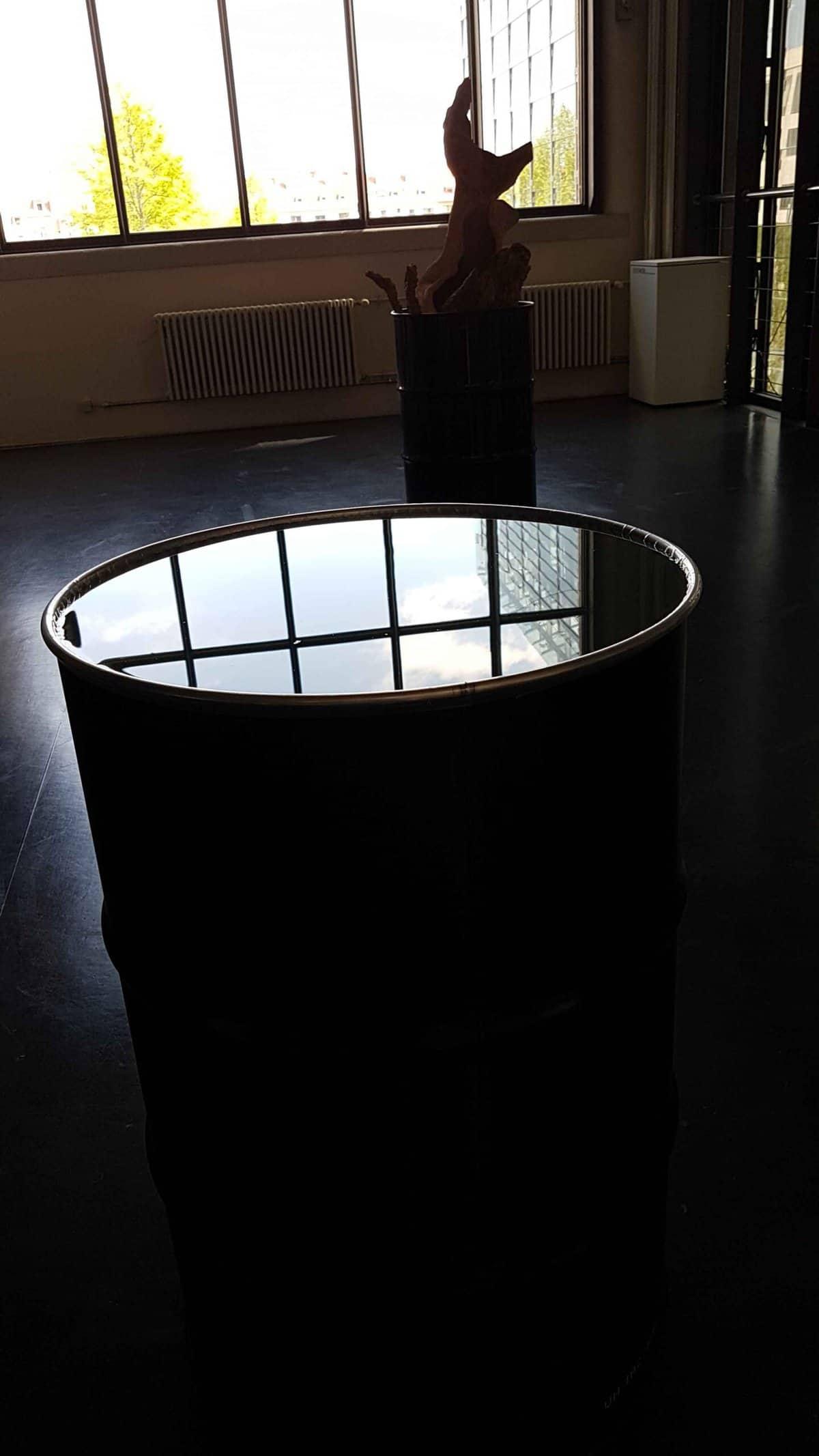 """Fabrizio Plessi, """"Liquid Water"""", Foto: Sabine Schäfer"""